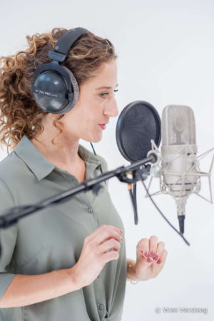 Ilse van Kollenburg, actress, actrice, voice-over, storyteller